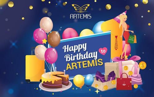 Tháng 5 này, đặc sắc chuỗi chương trình tri ân mừng sinh nhật trung tâm thương mại Artermis 01 tuổi