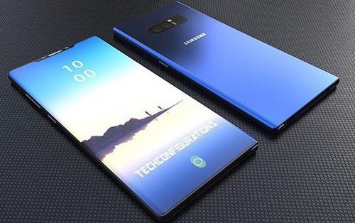 Samsung Galaxy Note 9 sẽ có bản 8GB RAM, 512GB dung lượng lưu trữ