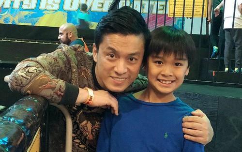 Lâu không xuất hiện, con trai riêng của Lam Trường với vợ cũ càng lớn càng chững chạc