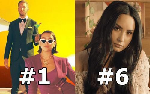Top 10 bài hát hot nhất Anh Quốc: Calvin Harris chưa buông #1, hit EDM