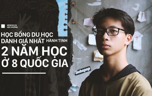 Mới học lớp 10, cậu bạn Nghệ An giành học bổng danh giá nhất hành tinh: 2 năm du học 8 quốc gia