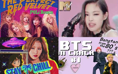 """Quay ngược về thập niên 80, loạt siêu hit Kpop """"Fake Love"""", """"Ddu-du"""", """"Likey""""... sẽ nghe như thế nào đây?"""