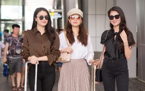 Dàn người đẹp Việt đã tề tựu đông đủ để tham dự Chung khảo phía Bắc Hoa hậu Việt Nam 2018
