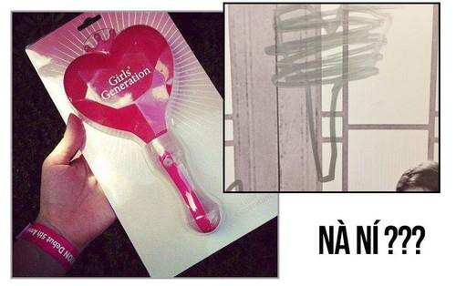 """Taeyeon """"nhá hàng"""" mẫu lightstick của SNSD, fan hoang mang vì nhìn giống... ná bắn chim"""