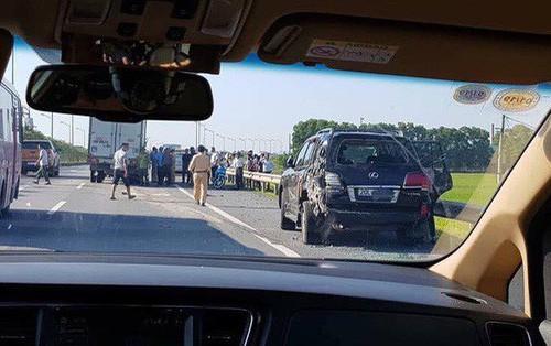 """Vụ tài xế Lexus biển tứ quý bị tông tử vong khi làm việc với CSGT: """"Tôi bị giật mình, không xử lý kịp"""""""