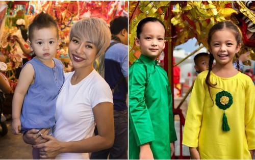 Dàn nhóc tỳ nhà sao Việt hào hứng đón Tết Trung thu 2018