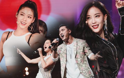 Khoảnh khắc đẹp của dàn sao Việt-Hàn trong show diễn đêm qua khiến khán giả bùng nổ