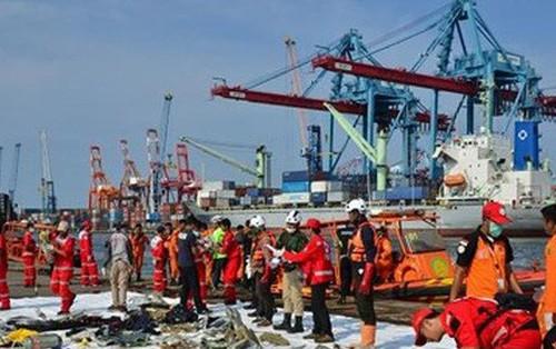Indonesia: Ngừng tìm kiếm các nạn nhân vụ tai nạn máy bay Lion Air