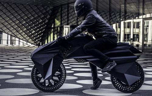 Chiêm ngưỡng chiếc xe máy điện in 3D 100% đầu tiên trên thế giới
