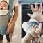 """Bé trai 5 tháng tuổi với bàn tay mũm mĩm như """"chân gà Đông Tảo"""" và đôi chân như chiếc bánh dày khiến dân mạng """"ngất lịm"""""""