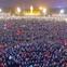 Clip flycam ấn tượng ở Nghệ An: Hàng vạn cổ động viên đứng kín quảng trường Hồ Chí Minh theo dõi trận chung kết lịch sử