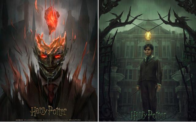 Thử xem tạo hình Harry Potter phiên bản phim kinh dị trông sẽ thế nào