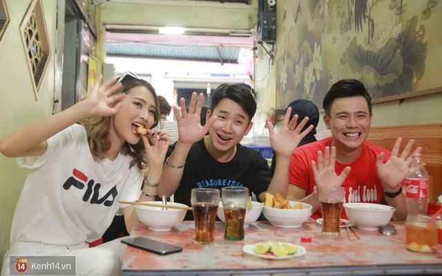 Đói Chưa Nhỉ: Không phải vào vai MC, Mù Tạt và Anh Huy được dẫn đi ăn phở Nam Định ngon nức tiếng