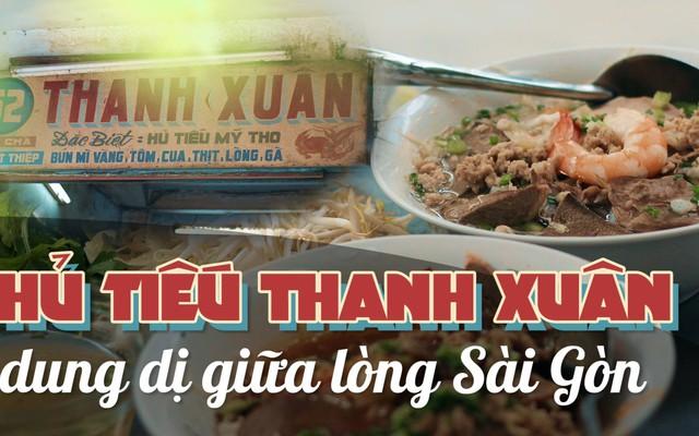 Hàng hủ tiếu 70 năm ở Sài Gòn có món pate chaud ăn kèm cực lạ