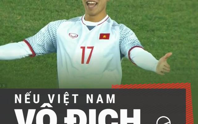 Bạn sẽ làm gì nếu U23 Việt Nam vô địch châu Á?