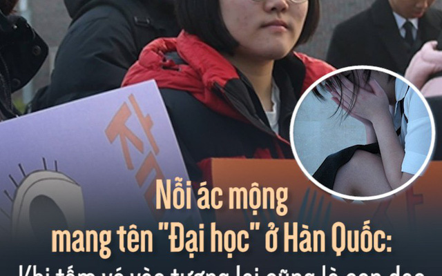 """Nỗi ác mộng mang tên """"Đại học"""" ở Hàn Quốc: Khi tấm vé vào tương lai cũng là con dao dồn học sinh vào đường cùng"""