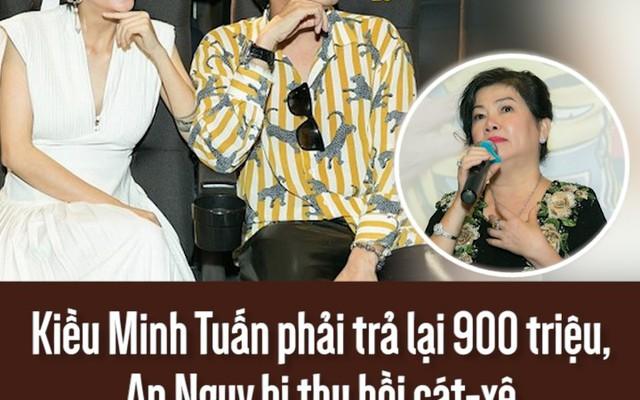 Kiều Minh Tuấn phải trả lại 900 triệu, An Nguy bị thu hồi cát-xê sau lùm xùm scandal tình cảm
