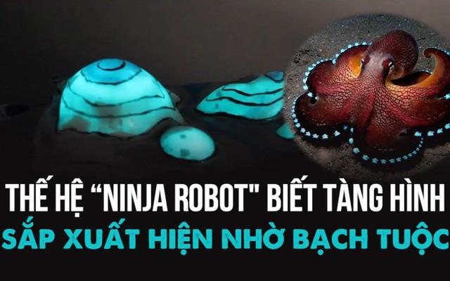 Thế hệ ninja robot biết tàng hình trong tương lai - tất cả là nhờ bạch tuộc