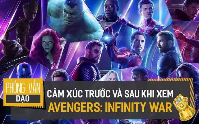 Sao Việt phấn khích tột độ khi đi xem Avengers: Infinity War