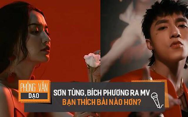 Sơn Tùng & Bích Phương ra MV, bạn thích bài nào hơn?