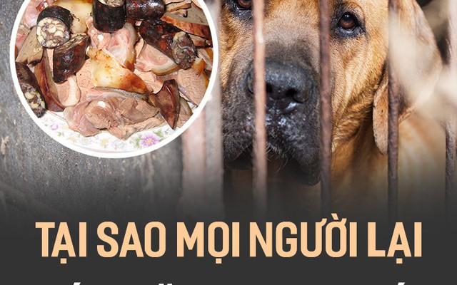 Tại sao mọi người lại ăn thịt chó?