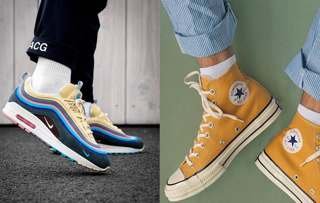 Sneakers đừng chỉ chọn trắng đen an toàn, còn có nhiều mẫu rực rỡ hot