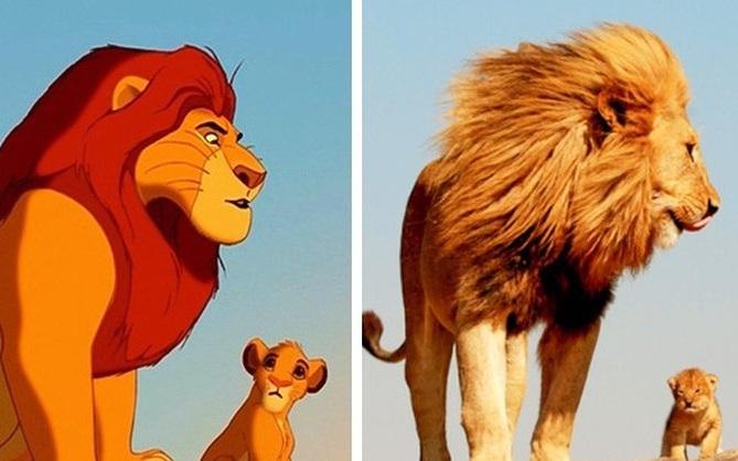 14 bản sao giữa đời thực của các con vật trong phim hoạt hình