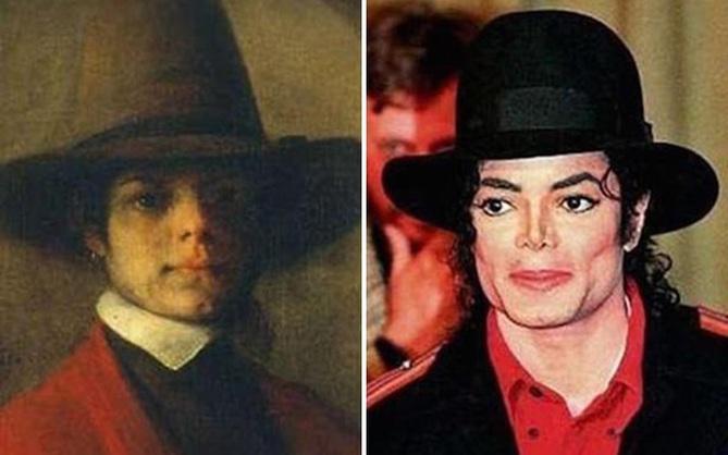 Michael Jackson là một nhà du hành thời gian và 2 bức ảnh này bảo thế