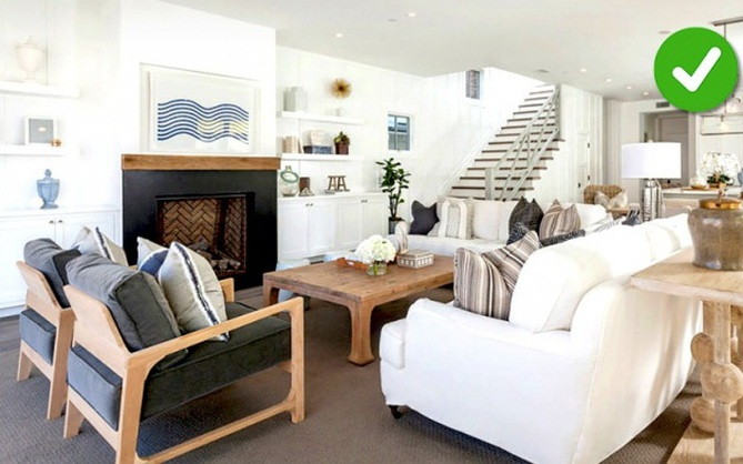15 lỗi bố trí nội thất phòng khách mà gia đình nào cũng thường mắc phải