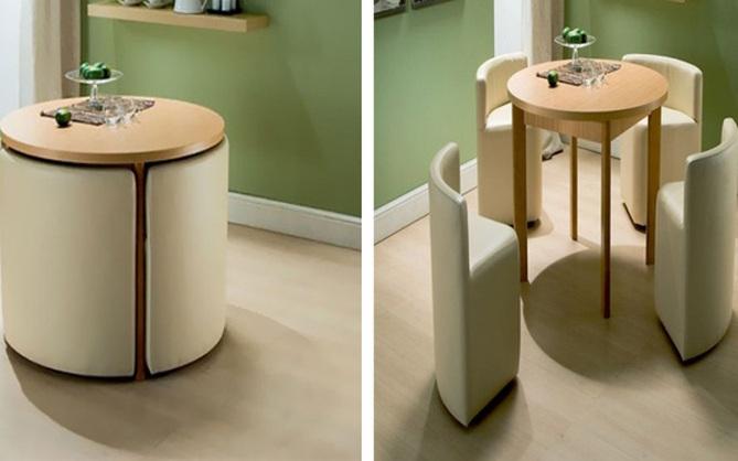 10 ý tưởng nội thất đa năng cho không gian thành phố chật hẹp