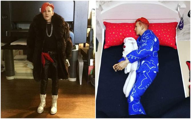 Fan việt phát sốt với búp bê G-Dragon giống y như thật, có cả phòng ngủ, giường và tủ quần áo riêng nữa