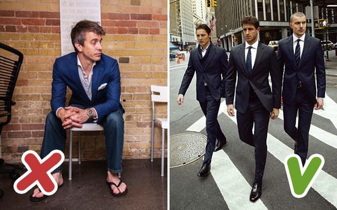 Đàn ông nên né 9 lỗi ăn mặc này để trông lúc nào cũng lịch lãm