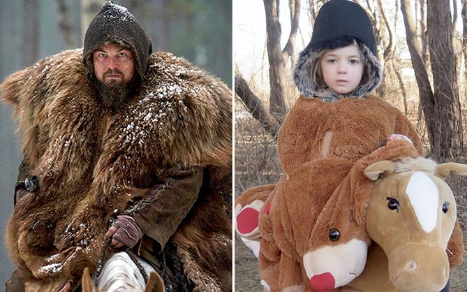 16 màn cosplay thần sầu các cảnh kinh điển trong giải Oscar của bé gái diễn sâu
