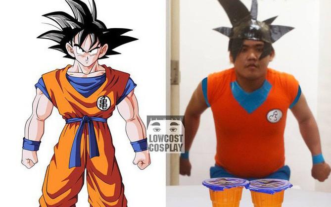 [Vui] Quỳ lạy với bộ ảnh cosplay Dragon Ball Z siêu hài hước của anh chàng Thái Lan