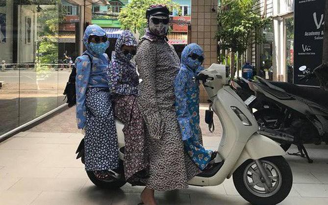 Gia đình ninja ngầu nhất MXH bất chấp tất cả để bảo vệ làn da