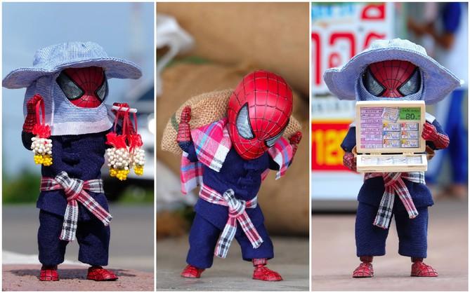 Góc mưu sinh: Khi Spider-Man cũng phải bươn chải đủ nghề từ cửu vạn tới bán hàng rong để kiếm sống