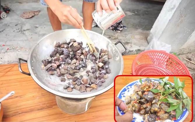 Ẩm thực tối thượng: Món đá xào xả ớt dành cho những người thích nhậu mà không muốn tốn mồi
