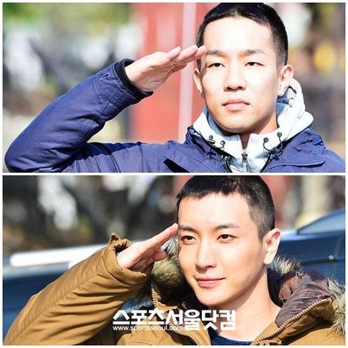 Hình ảnh đầu tiên của Leeteuk (Suju) trong quân ngũ 3