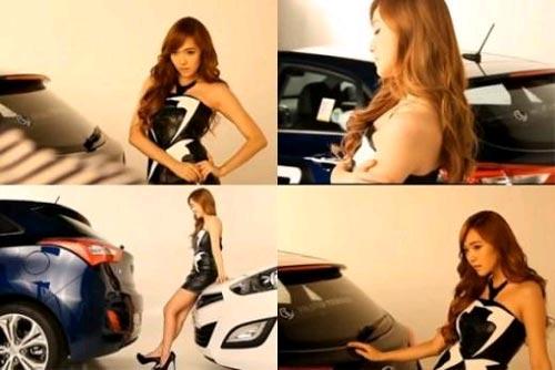 Jessica (SNSD) sexy như PG quảng cáo xe hơi 2