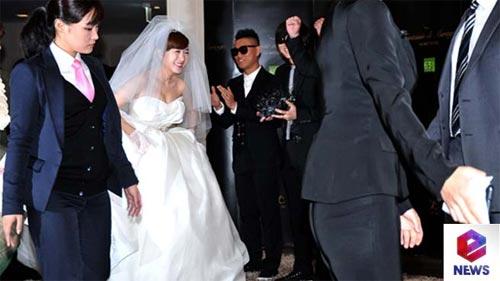 """Loạt sao Hàn dự đám cưới của thành viên """"Running Man"""" 1"""