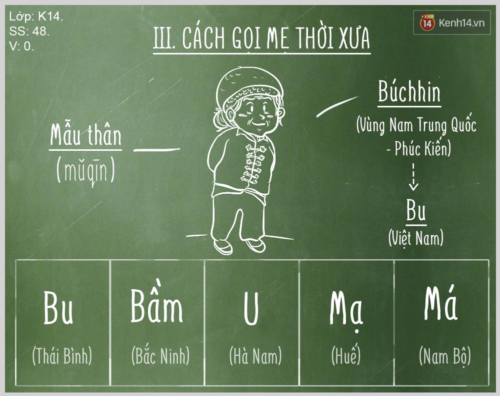 """Bạn biết được bao nhiêu cách gọi """"Mẹ"""" trong tiếng Việt? - Ảnh 3."""