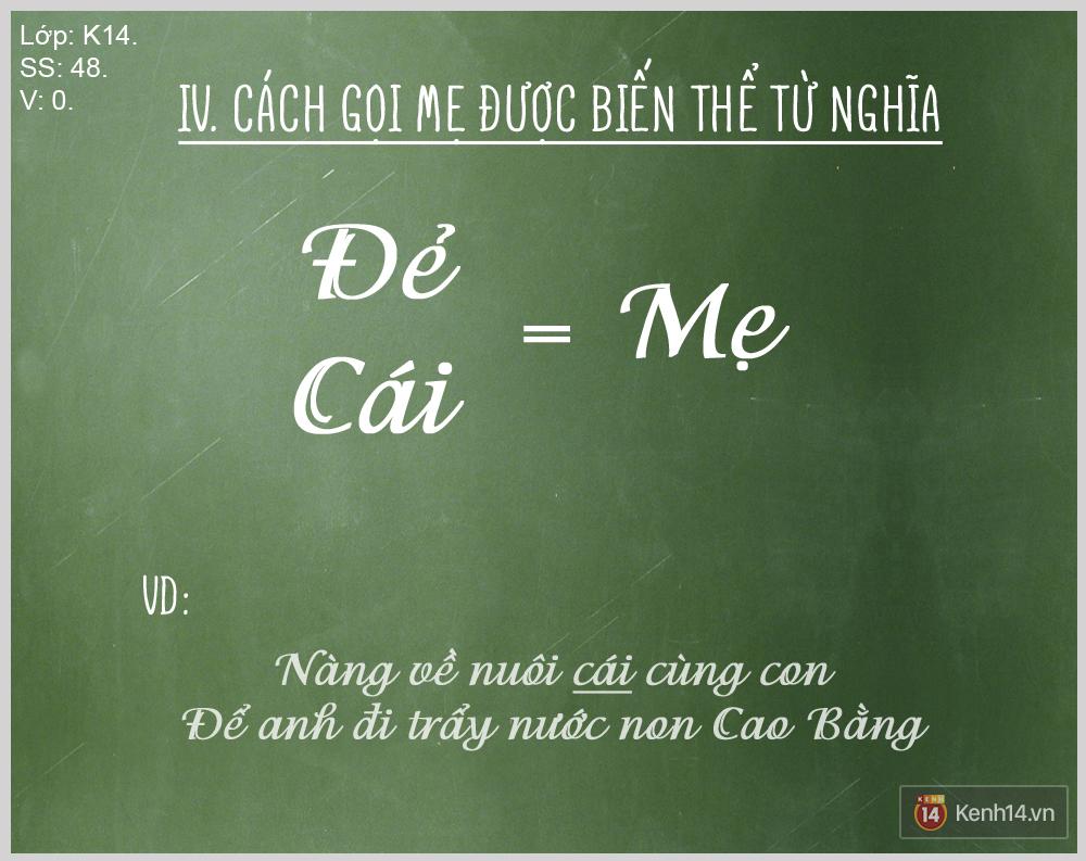 """Bạn biết được bao nhiêu cách gọi """"Mẹ"""" trong tiếng Việt? - Ảnh 4."""