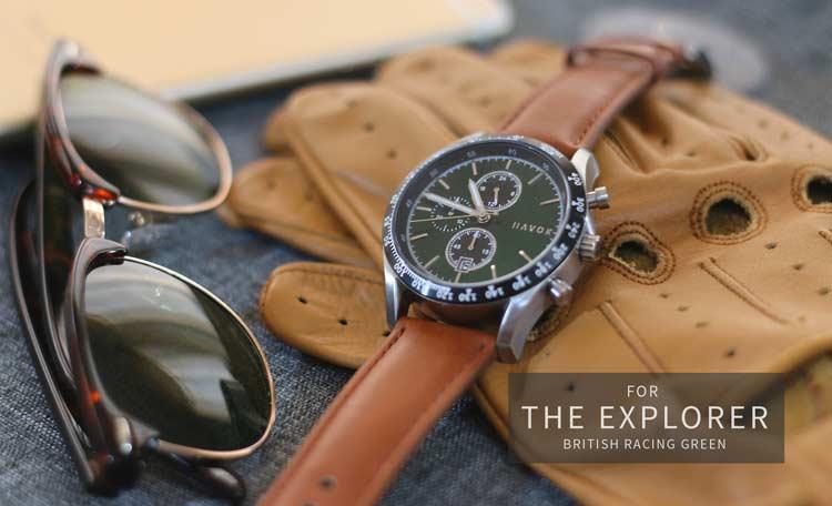 Đồng hồ đeo tay giá rẻ dành cho dân mê xe đua - Ảnh 6.