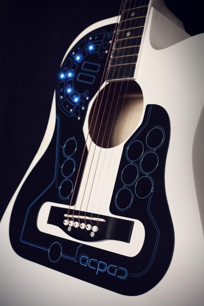 Guitar điện tử siêu việt kết hợp mọi loại nhạc cụ trong một - Ảnh 8.
