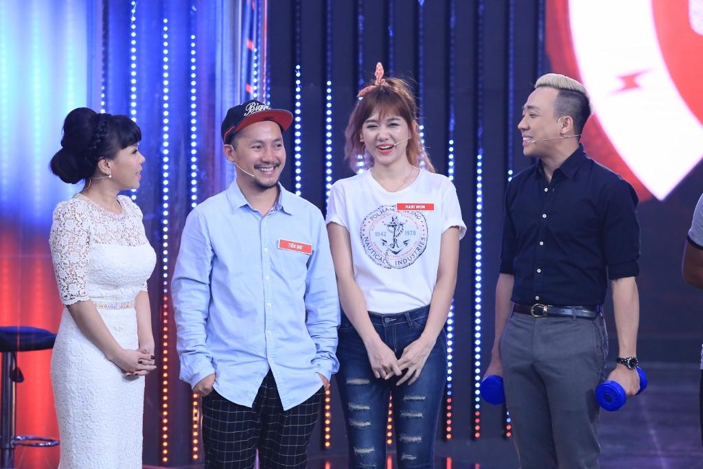 Cặp đôi vui nhộn Đinh Tiến Đạt và Hari Won đã trở lại