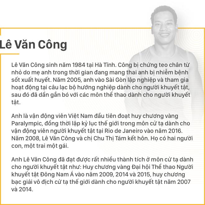 """Lê Văn Công: """"Khi ý thức được mình thiếu đôi chân thì đôi tay tôi đã mạnh mẽ lắm rồi!"""" - Ảnh 1."""