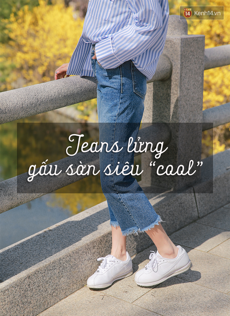 6 cách làm mới quần jeans đảm bảo chất từ các fashion blogger mà bạn nên học hỏi - Ảnh 1.