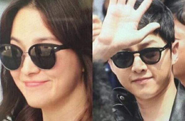 Tất tần tật những lần Song Joong Ki và Song Hye Kyo vô tình mặc đồ giống nhau - Ảnh 3.