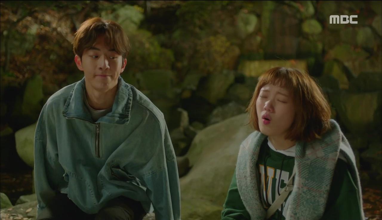 """""""Tiên Nữ Cử Tạ"""": Ngỡ được Lee Sung Kyung hôn, Nam Joo Hyuk đưa mặt hưởng thụ và nhận cái kết bất ngờ - Ảnh 4."""