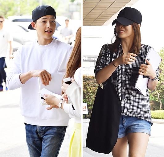 Tất tần tật những lần Song Joong Ki và Song Hye Kyo vô tình mặc đồ giống nhau - Ảnh 6.